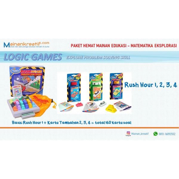 Paket Hemat Rush Hour 1 - 2 - 3 - 4